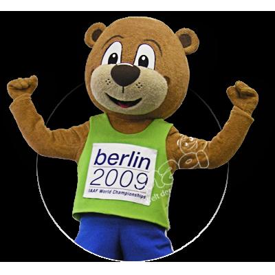 Sportmaskottchen Berlino