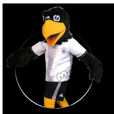 Maskottchen der deutschen Fußballnationalmannschaft